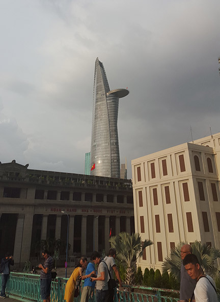 Tallest building in Ho Chi Minh