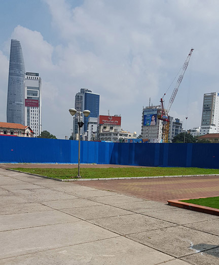 Serious development and growth in Ho Chi Minh