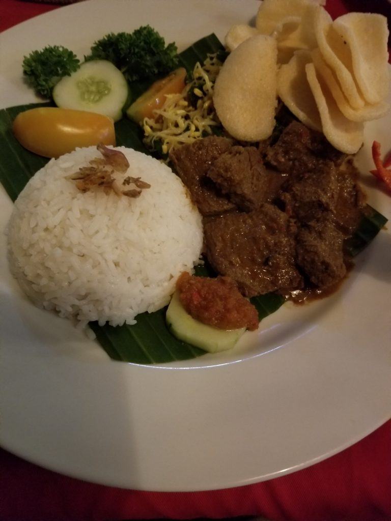 More Beef Rendang Indonesian food