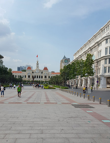 District 1: Capital buildings Ho Chi Minh