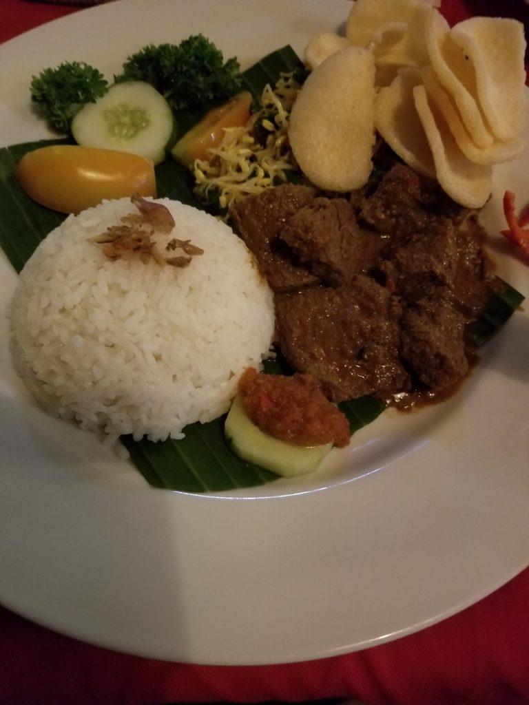 More Beef Rendang Indonesian food