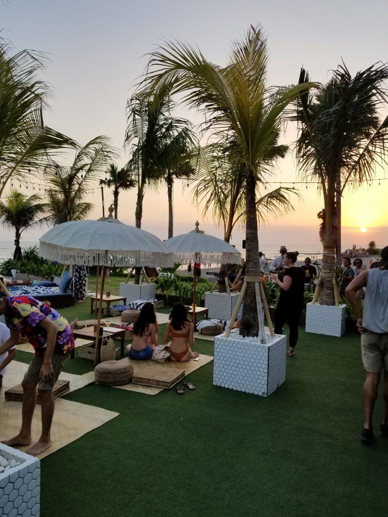 Finns Beach Club Seminyak, Bali, Indonesia