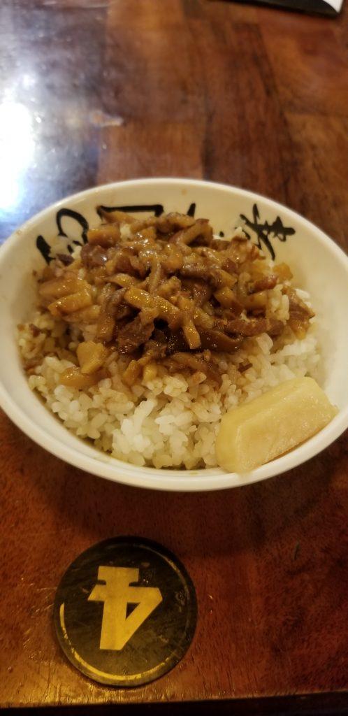 Pork and rice Hong Kong